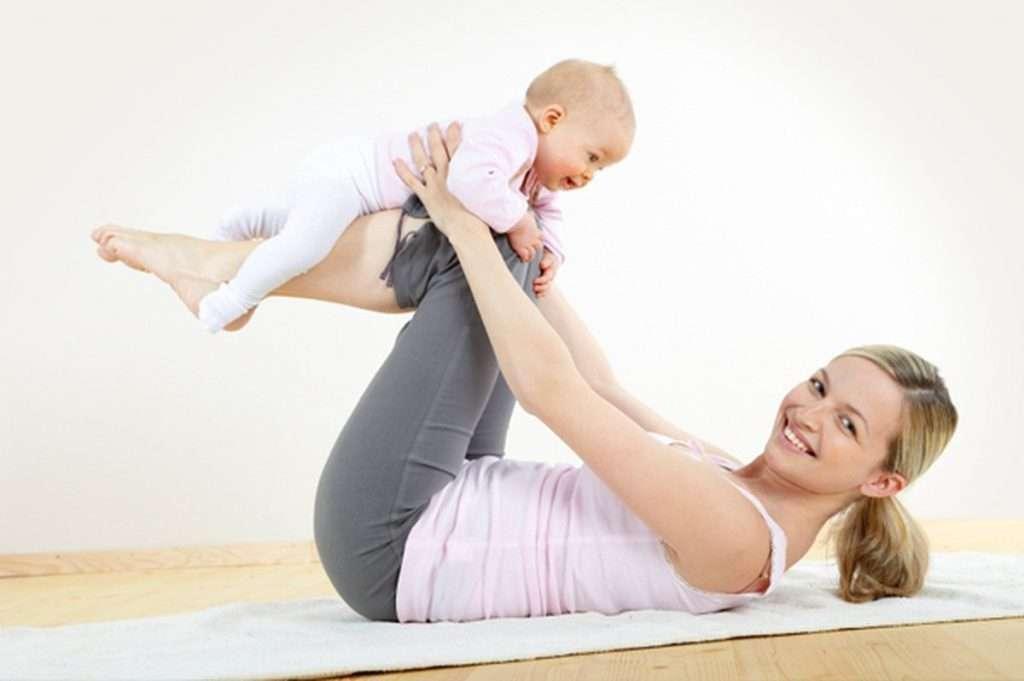 طرق انقاص الوزن بعد الولادة