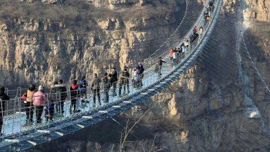جسور مرعبة حول العالم